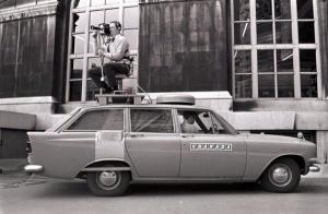 Camera on car