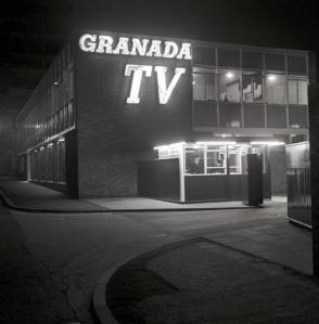 GRANADA TELEVISON1960MAIN ENTRANCECOPYRIGHT GRANADA