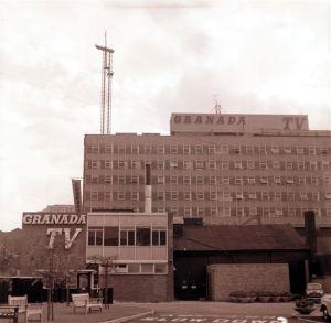 GRANADA TELEVISIONERECTION OF MAST1961